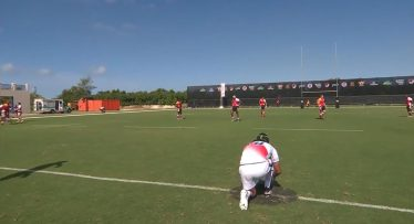 Video - The first 5-point rugby conversion has been kicked
