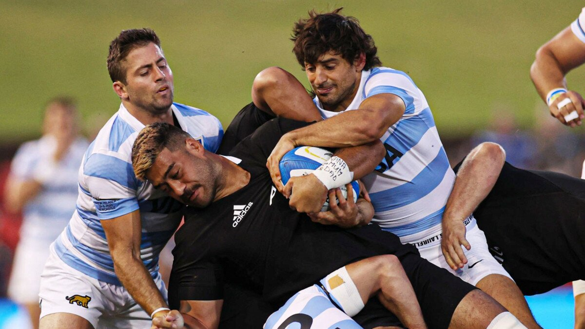 The All Blacks' number 6 jersey is Akira Ioane's for as long as he wants it