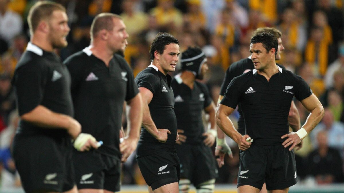 'I used to read all that and it used to get me up and down': What the under-fire All Blacks need to learn from 2011 ahead of Pumas rematch