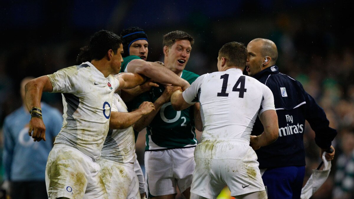 England v Ireland: A Rivalry in Quotes