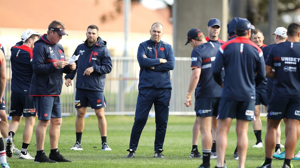 Michael Cheika's full time switch to rugby league looks complete as new role revealed
