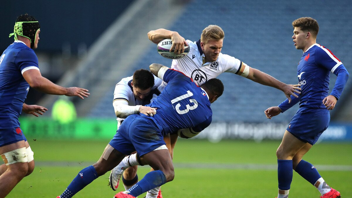 Vakatawa the difference as France win 'arm-wrestle' against Scotland