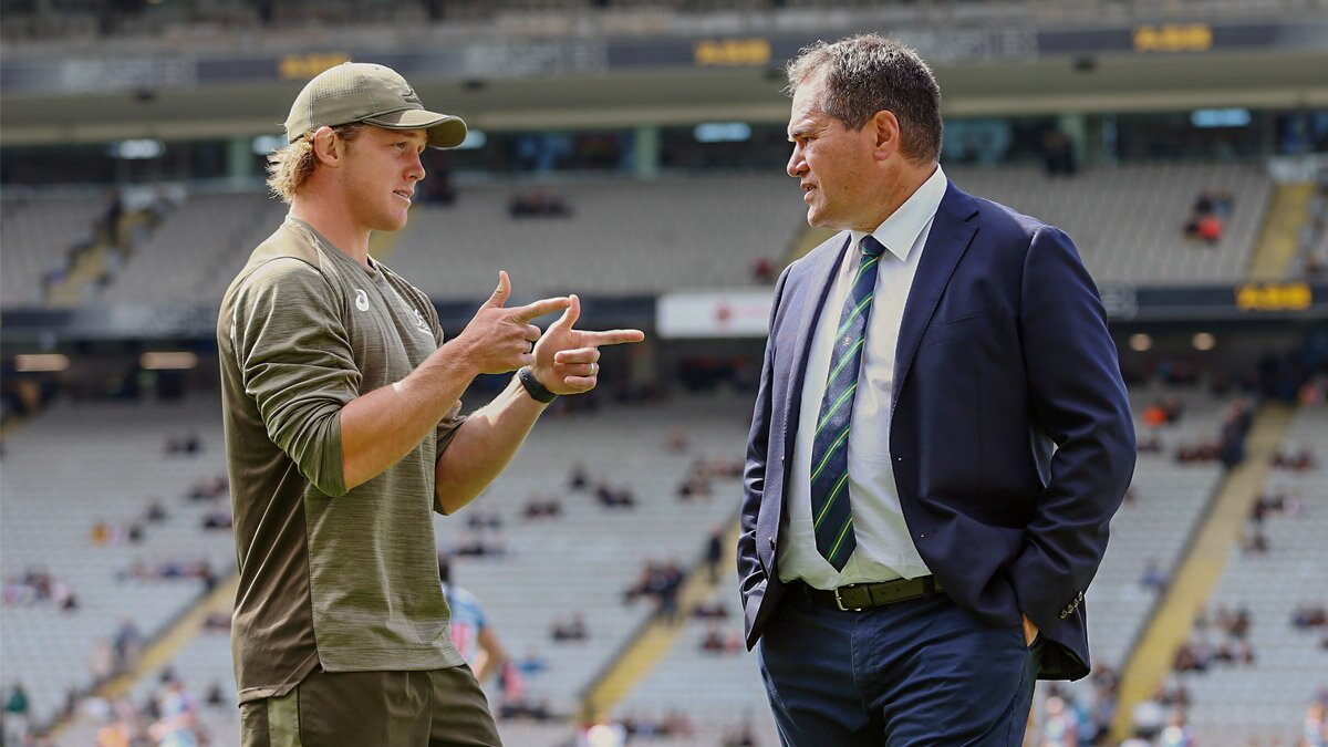 'I'm not asking our players to be more emotional': How Dave Rennie plans to break the Wallabies' back-to-back duck