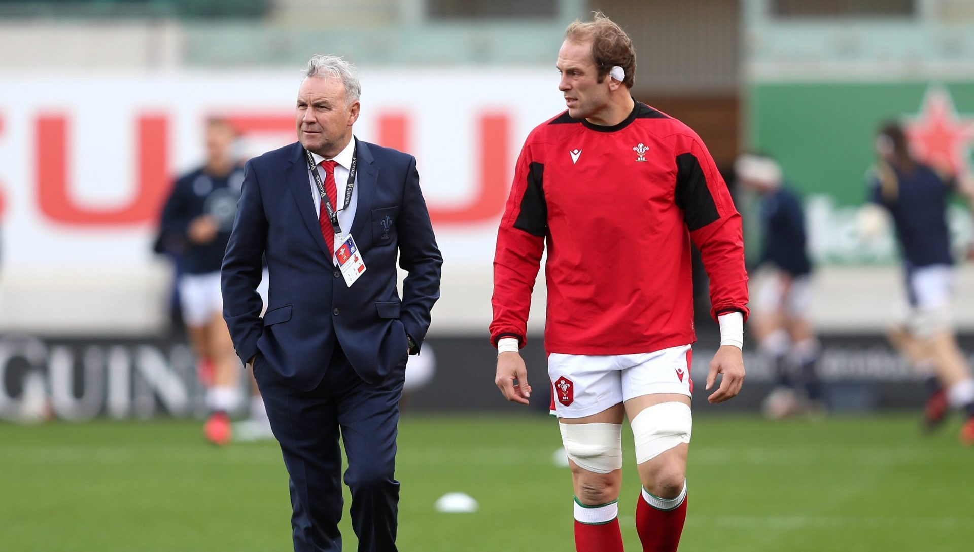 The salient point Alun Wyn Jones just made about the 12 years under Gatland