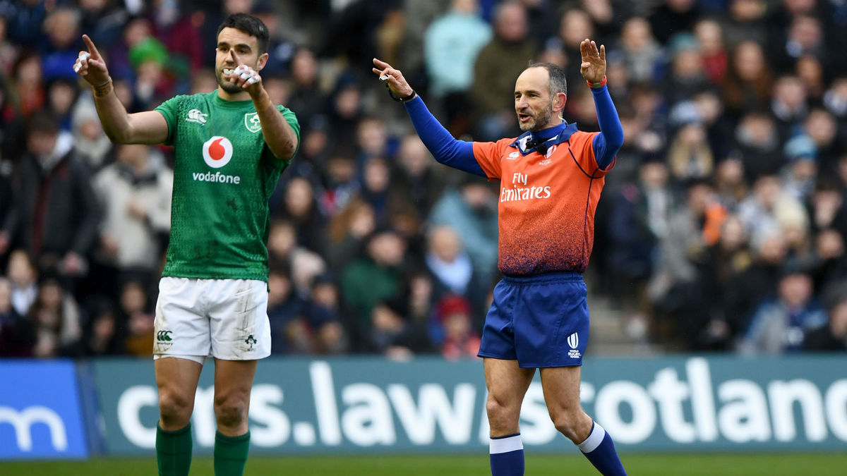 Laidlaw's postmatch comments about Romain Poite suggest he's not Scotland's favourite ref