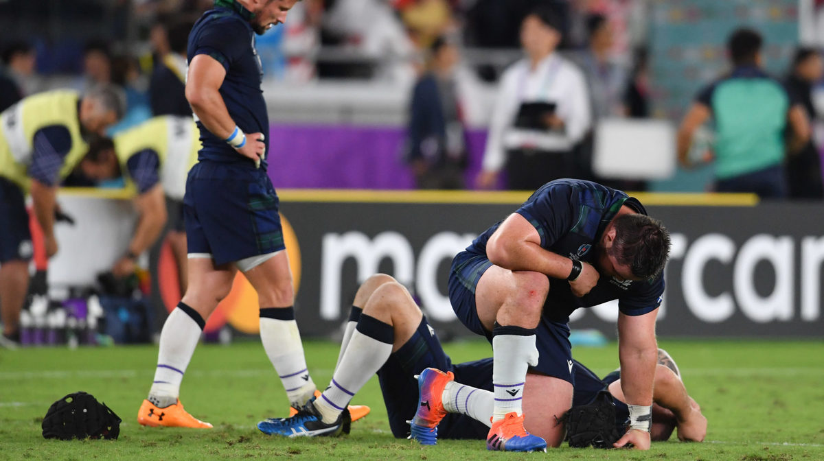 Scotland cancelled as Japan's history boys win World Cup thriller